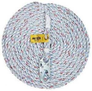 Fall Protection Roofer's Kit - Rope Lifeline 1204001