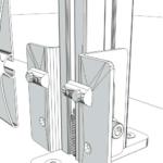 Aluminum Fixed Mounted Guardrails – Toeboard