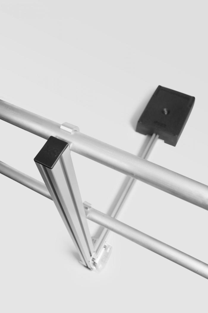 Aluminum Non-penetrating Guardrails