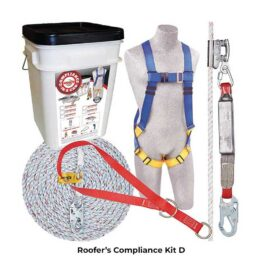 Fall Protection Roofer's Compliance Kit