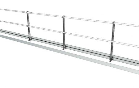 Aluminum Fixed Mounted Guardrails