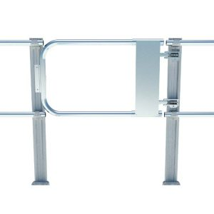 Aluminum Fixed Mounted Guardrails - Safety Gate