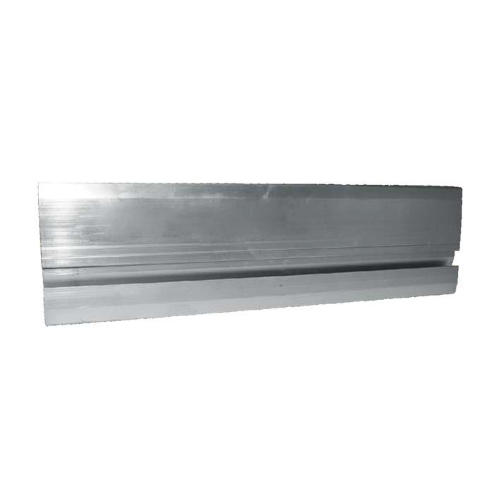 Aluminum Fixed Mounted Guardrails - Toeboard