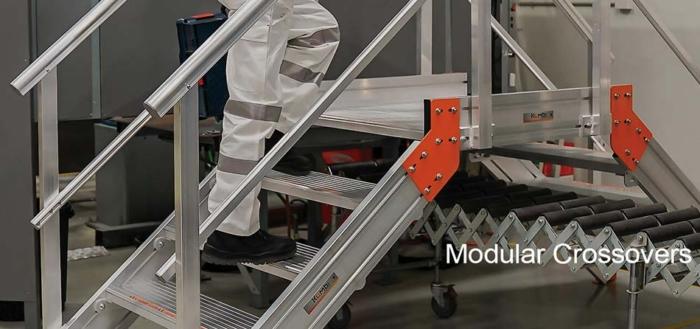 Aluminum Crossover Bridge Modular Access System